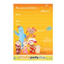 'In The Night Garden' Invitation Pad PK20